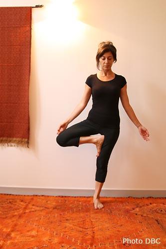 Posture De Yoga Vrikshasana Larbre