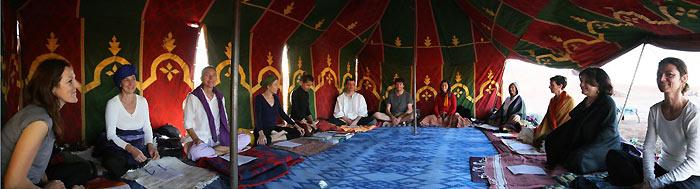 Stage de Yoga dans le désert Marocain